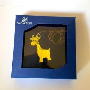 Swarovski Gina the Giraffe Pendant Necklace